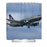 United Airlines Boeing 737-522 Shower Curtain