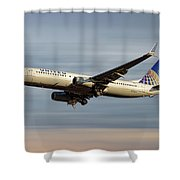 United Airlines Boeing 737-824 Shower Curtain