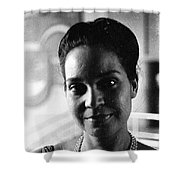 Unknown Woman Shower Curtain