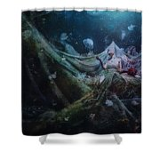 Unravel Shower Curtain