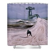 Untapped Shower Curtain