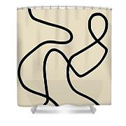 Untitled IIi Shower Curtain