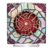 Untitled Meditation Shower Curtain