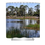 Untouched Nature Shower Curtain