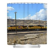Up 5400 Passing Through Shower Curtain