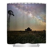 Up In The Country  Shower Curtain
