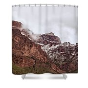 Up Up Up Shower Curtain by Rick Furmanek