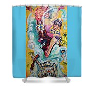 Uplyfted  Shower Curtain