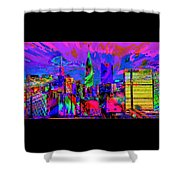Urban Color Shower Curtain