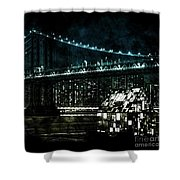 Urban Grunge Collection Set - 15 Shower Curtain
