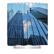 Urban Skies Shower Curtain