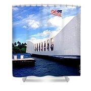 Uss Arizona Memorial Shower Curtain