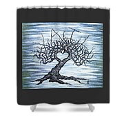 Vail Love Tree Shower Curtain