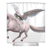 Valkyrie Spirit Shower Curtain