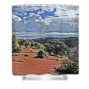 Valley Colorado National Monument 2880 Shower Curtain