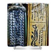 Vapo-cresolene Vaporizer Liquid Poison Bottle Shower Curtain