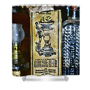 Vapo-cresolene Vaporizer Liquid Poison Original Packaging Shower Curtain