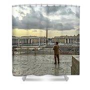 Vaticani View Shower Curtain