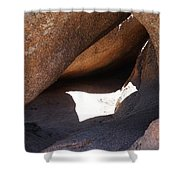 Vedauwoo Natural Cave Shower Curtain
