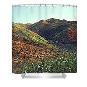 Velvet Hills Shower Curtain