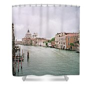 Venice Grand Canal Shower Curtain
