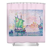 Venice, The Pink Cloud - Digital Remastered Edition Shower Curtain