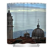 Venice Tower And Dome Shower Curtain