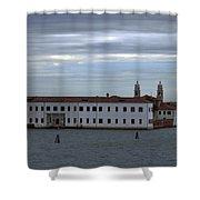 Venice Water Scene Shower Curtain