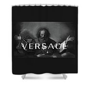 Versace-3 Shower Curtain