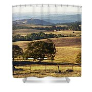 Victoria Countryside Layers Shower Curtain