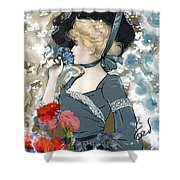 Victorian Lady Shower Curtain