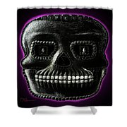 Watchman, Sugarskull Of Passing Time Shower Curtain