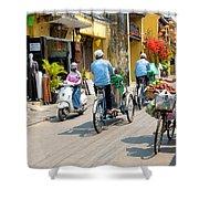 Vietnam Street Shower Curtain