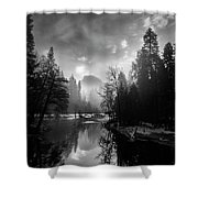 View Of Half Dome II Shower Curtain