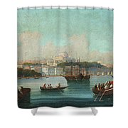View Of Istanbul - 1 Shower Curtain