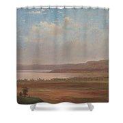 View Of Lake Pepin, Minnesota, 1862 Shower Curtain