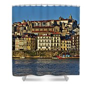 View Of Porto And Douro River Shower Curtain