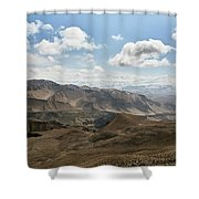 View Of The Village Of Marang From Mui Shower Curtain