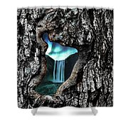 View To Another World  Shower Curtain