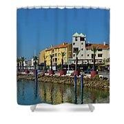 Vilamoura Marina 6 Shower Curtain