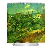 Vineyard At Vico Shower Curtain