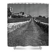 Vineyard In Saint-emilion Shower Curtain
