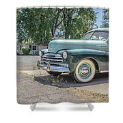 Vintage Car Chevy Fleetmaster Shower Curtain