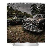 Vintage Cars Goshen Nh Shower Curtain