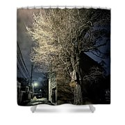 If Trees Could Talk Shower Curtain