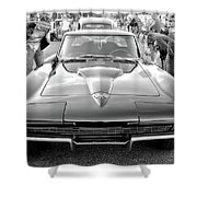 Vintage Corvette Shower Curtain