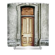 Vintage Door Shower Curtain