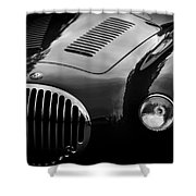 Vintage Fratelli Maserati Bologna Shower Curtain