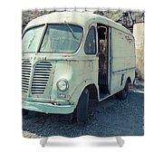 Vintage International Harvester Metro Delivery Van Shower Curtain