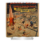 Vintage Poster Grand Water Circus Painting By Vintage Images